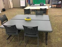 Tables available for group crafting
