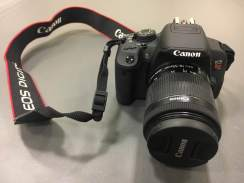 The DSLR camera available for use in the room