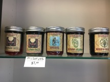 Grab a jar of locally made jelly to go.