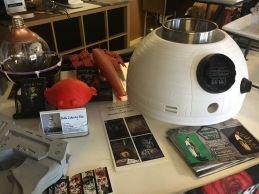 All sorts of movie-themed items on display