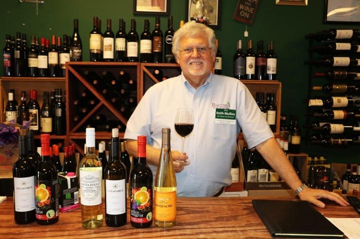 Keith Mullins vino